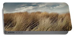 Dunes And Clouds Portable Battery Charger