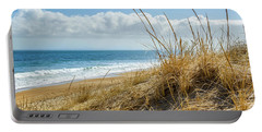 Dunes At Plum Island Portable Battery Charger