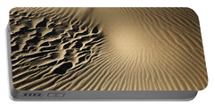 Dunes Footprints Portable Battery Charger