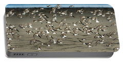 Dunlins And Shadows Portable Battery Charger