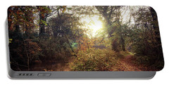 Dunmore Wood - Autumnal Morning Portable Battery Charger