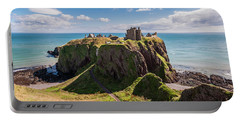 Dunnotar Castle Portable Battery Charger by Sergey Simanovsky
