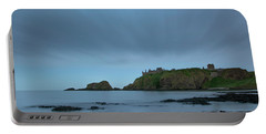 Dunnottar Castle On A Summer Night Portable Battery Charger