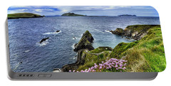 Dunquin Flowers  Portable Battery Charger