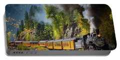 Durango-silverton Narrow Gauge Railroad Portable Battery Charger by Inge Johnsson