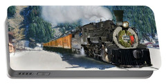 Durango To Silverton Train Portable Battery Charger
