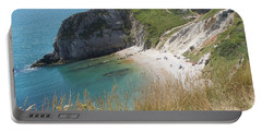 Durdle Door Photo 1 Portable Battery Charger