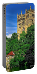 Durham Cathedral And Wool Mill Portable Battery Charger