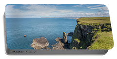 Portable Battery Charger featuring the photograph Handa Island - Sutherland by Pat Speirs