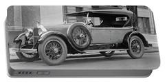 Dusenberg Car Circa 1923 Portable Battery Charger
