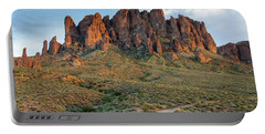 Dusk At Lost Dutchman Portable Battery Charger by Greg Nyquist