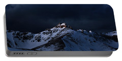 Dusk At Loveland Pass Portable Battery Charger
