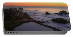 Dusk At Sutro Baths Portable Battery Charger