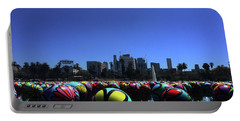 Dusk Finds The Spheres Of Macarthur Park Portable Battery Charger