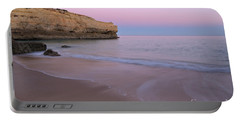 Dusk In Albandeira Beach Portable Battery Charger by Angelo DeVal