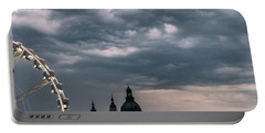 Portable Battery Charger featuring the photograph Dusk Over Budapest by Alex Lapidus