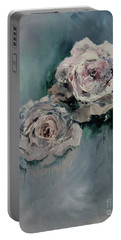 Dusky Roses Portable Battery Charger