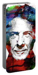 Dustin Hoffman Portable Battery Charger by Mihaela Pater