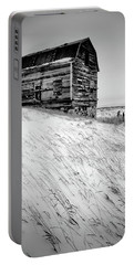 Dutch Barn In Winter Portable Battery Charger