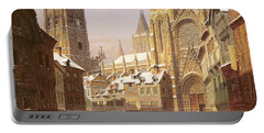 Dutch Cathedral Town Portable Battery Charger