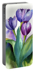 Dutch Tulips Portable Battery Charger