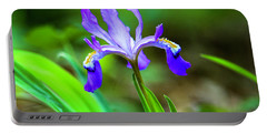 Dwarf Crested Iris Portable Battery Charger