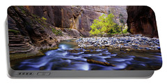 Portable Battery Charger featuring the photograph Dynamic Zion by Chad Dutson