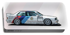 E30 M3 Warsteiner Portable Battery Charger by Roger Lighterness