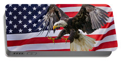 Eagle And Flag Portable Battery Charger
