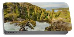 Eagle Bonsai's Inspirational Flow Into Lake Tahoe Portable Battery Charger