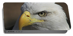 Portable Battery Charger featuring the photograph Eagle Eye by Steve Stuller