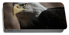 Portable Battery Charger featuring the photograph Eagle Eyed by Marie Leslie
