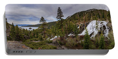 Eagle Falls Spring Rage Into Emerald Bay Portable Battery Charger