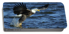 Eagle Fish Grab Portable Battery Charger by Coby Cooper
