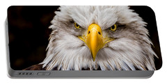 Defiant And Resolute - Bald Eagle Portable Battery Charger
