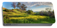 Eagle Grove At Lake Casitas In Ventura County, California Portable Battery Charger