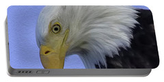 Eagle Head Paint Portable Battery Charger