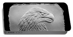 Eagle Head Relief Drawing Portable Battery Charger