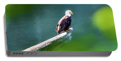 Eagle In Lake Portable Battery Charger