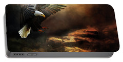 Eagle Is Landing Portable Battery Charger