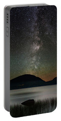 Eagle Lake And The Milky Way Portable Battery Charger