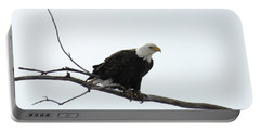 Eagle On The Tree Branch Portable Battery Charger