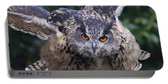 Eagle Owl Close Up Portable Battery Charger
