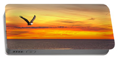Eagle Panorama Sunset Portable Battery Charger