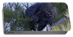 Eagle Portrait Portable Battery Charger by Brook Burling