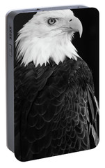 Portable Battery Charger featuring the photograph Eagle Portrait Special  by Coby Cooper