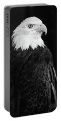 Eagle Portrait Special  Portable Battery Charger by Coby Cooper