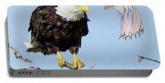 Eagle Reflection Portable Battery Charger