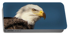 Portable Battery Charger featuring the photograph Eagle by Rod Wiens