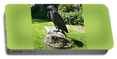 Portable Battery Charger featuring the photograph Eagle Totem by 'REA' Gallery